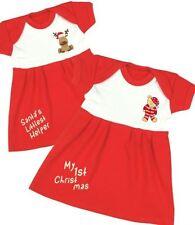 Robes rouge pour fille de 0 à 24 mois en 100% coton