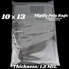 10x13 Clear Resealable T Shirtapparel Self Seal Lip Tape Poly Plastic Bags