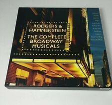 Broadway Musicals of Rodgers & Hammerstein 11 CD Box Set Masterworks Very Good