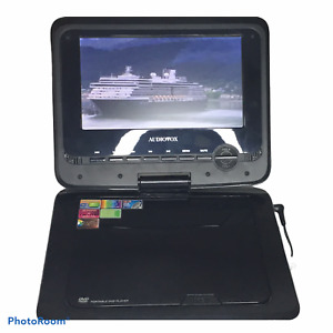 """Audiovox DS7321 Portable DVD Player (7"""") Black with Case and Remote"""