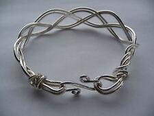 Sterling silver Plaited Viking Style Bracelet