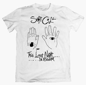 SOFT CELL 'Sodom' T-shirt, Depeche Mode, Human League, Yazoo, OMD, Eurythmics