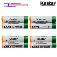 Kastar AAA Battery for Panasonic KX-TG6641B KX-TG6642B KX-TG6643B KX-TG6644B