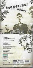 CD CARTONNE CARDSLEEVE THE SERVANT LIQUEFY + CLIP  NEUF SCELLE !!