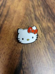 Hello Kitty hat pin Cosplay lapel brooch button