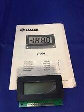 Lascar V 600 3 1/2-Digit LCD Panel Voltmeter w/200 mV DC, Bezel Mount,