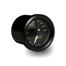 Velona TACHIMETRO 48mm, nero, fino a 200 km/h, per HARLEY-DAVIDSON