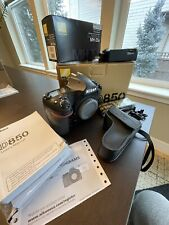 Nikon D850 Digital SLR Camera with ML-3 Wireless Remote Shutter and 3 batteries