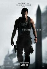 WHITE HOUSE DOWN (2013) 4ft x 5.5ft Movie Banner- Bus Shelter/Subway - Tatum