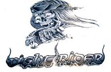 huge Night Rider Skeleton Motorcycle Biker 3 X 5 Flag novelty new 3x5 #Fl363