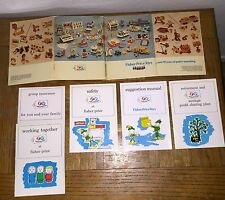 Rare Vintage Fisher Price 1972 Employee Manuals Detailed Info Fun Pictures