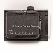 Graflex 23 GRAPHIC 120 Film Back - Graphic 31/4 x 41/4 Cameras - EXCELLENT RARE!