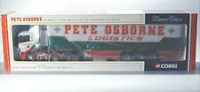 SCANIA curtainside-pete OSBORNE Logistics ltd-modern camiones, Corgi, 1:50