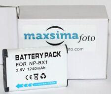 2x 1240mAh Battery for Sony NP- BX1 DSC- RX1 RX1R RX100 II III HX50 HX300 HX400