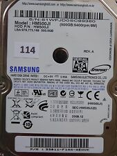 500 GB Samsung HM500JI / 2009.12 / PCB: M7S2_S1PME REV.04 #114