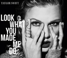 TAYLOR SWIFT - LOOK WHAT YOU MADE ME DO (2-TRACK)   CD SINGLE NEU