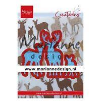 Marianne Design Creatables Dies ~ Tiny's Deer Family, LR0615 ~ NIP