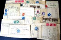 Marche da Bollo - Lotto da 30  tutte con annullo Postale
