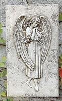 """16"""" Angel Relief Wall Plaque Indoor Outdoor Garden Statue Joseph's Studio 65987"""