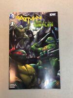 Batman Tmnt #1 Teenage Mutant Ninja Turtles Color Variant Artgerm Rare NM comic