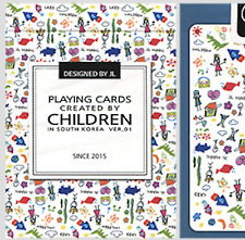 Playing Cards Created by Children by US Playing Card from Murphy's Magic