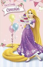 Disney Princess/Fairies Birthday, Child Hand-Made Cards