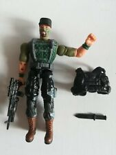 "3.75"" Gi Joe Gung Ho with 3pcs weapons Rare Action Figure"