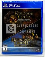 Baldur's Gate: Enhanced Edition - PS4 - Brand New | Factory Sealed