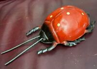 Antique 1911 S Gunthermann, Bavaria Germany Tin Toy Ladybug Insect Works Well