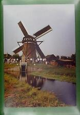 CPA Holland Nieuwe Wetering Windmill Moulin a Vent Windmühle Molino Wiatrak w87