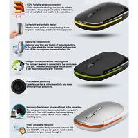 Mice Ultra-Slim Mini USB 2.4G 2.4GHZ Wireless Optical Mouse Scroll Mice 1600 DPI