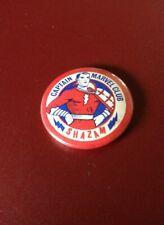 More details for rare vintage captain marvel club shazam badge 26 mm diameter