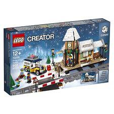 LEGO Creator (10259) Winter Train Station (Brand New & Factory Sealed)
