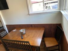 table and chair set used