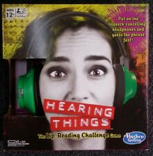 Lip Reading Challenge Hearing Things Game Christmas Gift Toys For 4 to 8 Players