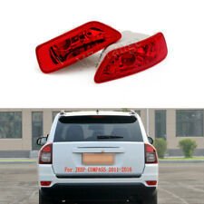For Jeep Compass Patriot 2011-2016 Left Right Light Tail Bumper Lamp Reflector