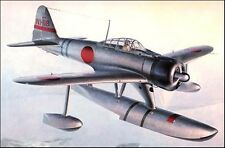 Nakajima A6M2-N Fighter Bomber Airplane Handcrafted Wood Model Regular New