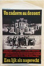 Murder By Death Original Belgian Affiche Film Poster 1969 George Segal