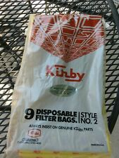Genuine Kirby Parts Upright Vacuum Cleaner Bags OPEN Package 6 Bags NEW