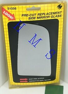 MOTOMITE DORMAN 51056 REPLACEMENT LEFT SIDE MIRROR GLASS FITS BUICK CHEVY OLDS
