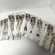 New Uncut McCalls Stuff by Hillary Duff Sewing Patterns Mp210-MP213 M5376 M5417