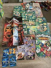 Power Rangers Promotional Inserts, Cards And Posters Wild Force Mystic Jungle
