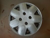 "1992 92 93 94 Suzuki Swift Hubcap Rim Wheel Cover Hub Cap 14"" OEM USED 64503"