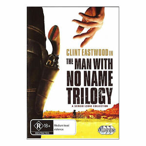 The Man With No Name Trilogy DVD (3 Disc Set) NEW