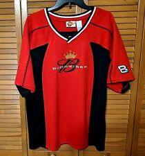 Large Winners Circle Dale Jr #8 Budweiser Pullover Shirt Red Black Nascar