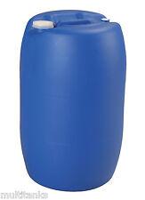Bidon 60 litres 60L jerrycan fut baril plastique alimentaire à bondes