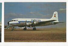 FRI REYES Douglas DC-4 at La Paz Aviation Postcard, A650