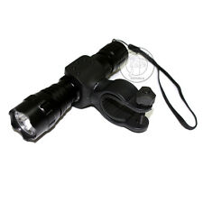 UltraFire 501B CREE XM-L T6 LED 800 Lumens 3Mode Flashlight Torch + Bike Mount