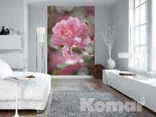 Fototapete BOUQUET 184x254 cm rosa Blume Rose Blüte nachcolorierte Rosen moderne