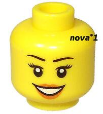 LEGO Testa Femminile Smiley per minifigura NUOVO